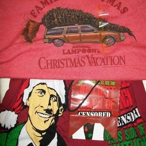 Other - Men's small boxer + t-shirt Christmas vacation